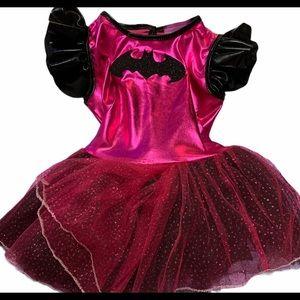👻 Hot Pink BatGirl costume 3T-4T